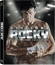 Rocky Heavyweight 6 Film Complete Collection Blu-ray Boxset Boxed Set New