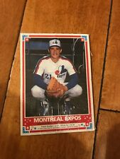 MONTREAL EXPOS & Toronto Blue Jays Complete team sets 1985 OPC Baseball Poster