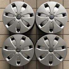 """4 Cerchi in Ferro Originali AUDI A3 Q2 Q3 TT da 16"""" USATI compresi copri cerchi"""