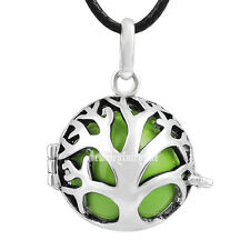 Grassy Harmony ball lucky baby chime pendant necklace angel caller Mexican bola