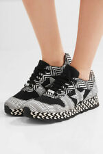 Stella Mccartney Macy Sneakers Lace Up Wedge Espadrilles Shoe 35 - 5
