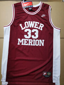Kobe Bryant #33 Lower Merion High School Men's Basketball Jersey All Stitched L