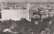 Old Photo Postcard Of The Casablanca Cathedral Morocco Cigogne