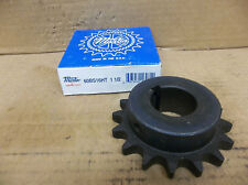 "Martin Saber Tooth Sprocket 60BS16HT 1 1/2 60BS16HT112 1-1/2"" Bore 3/8"" KW New"