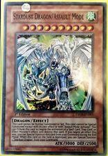 Yu-Gi-Oh Stardust Dragon/ Assault Mode Super Rare DP09-EN001