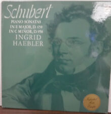 Schubert Piano Sonatas Ingrid Haebler Phillips 6500 082 Import 092717mne