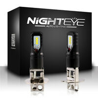 NIGHTEYE H3 1600LM 160W CSP LED Ampoule Phare Voiture Lampe Brouillard DRL 6500K