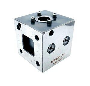 "System 3R MINI-BLOCK Model 3R-321.46 EDM Tooling Cube 2.75"" (70mm)"