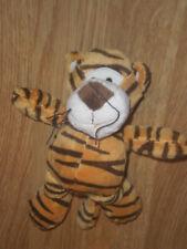 DOUDOU PELUCHE Tigre Tiger doux PLANET PLUSH PLUCH JEMINI 16 cm neuf MARRON