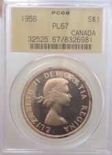 1956 $1 ICCS/PCGS PL67 HEAVY CAMEO - TIED FINEST KNOWN