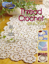 HOW TO THREAD CROCHET ON A ROLL Paperback Crafts Book in English ~ NEW