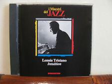 LENNIE TRISTANO intuition -CD-Maestri del Jazz-De Agostini-fino 2 cd spese fiss