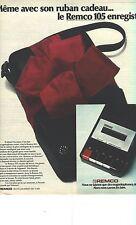 PUBLICITE 1973   REMCO  magnetophone