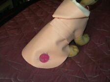 imper simili rose chien manteau dos 20cm yorkshire