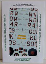 Xtradecal 1/72 X72176 avro lancaster b. mk ii decal set