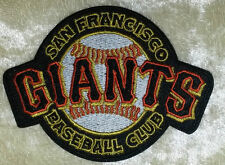 """San Francisco SF Giants Baseball Club 3.5"""" Iron On Embroidered Patch ~FREE SHIP!"""