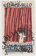 (IT511) 1958 Italy 25L red & indigo leon cavallo ow969