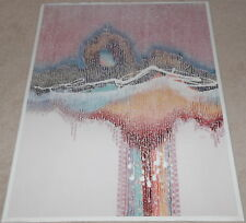 "Modern Valley Cottage 40""x 28"" #2 Unsigned Abstract 1970-1989 Artwork Reproducti"