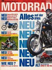 M8620 + Vergleich HEINKEL Tourist vs. HONDA Spacy + MOTORRAD 20 1986