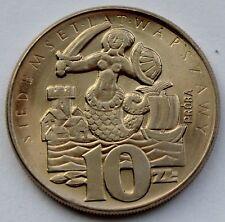 10 zlotych 1965, Mermaid, 700 Years od Warsaw, Pattern Coin, Proba, v2 ,