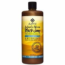 Authentic African Black Soap - All-in-One Body Wash (Unscented)