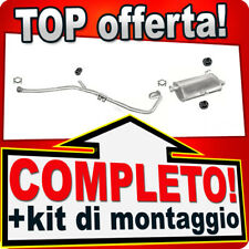 Scarico Completo PEUGEOT 206 2.0 HDI Familiare SW 2002-2006 Marmitta 848