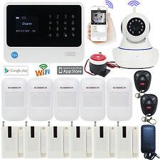 E75 G90B WIFI APP GSM Wireless Office Home Security Alarm Burglar System+Camera