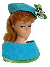 Vintage Barbie Doll Ponytail 1965 red Titan Hair Fashion Editor #1635 Camera +