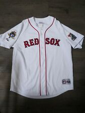 Boston red sox Uniform Jersey 100th anniversary patch jackie Robinson patch.