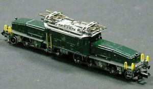 2465 Arnold N Gauge Electric Locomotive Class Ce 6/8 'Crocodile' SBB in Case UK