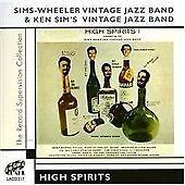 Sims-Wheeler Vintage Jazz Band - High Spirits (2005)  CD  NEW/SEALED  SPEEDYPOST