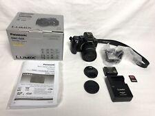 Panasonic LUMIX DMC-G5K 16MP Mirrorless Camera w/ 14-42mm Lens, Box, Accessories
