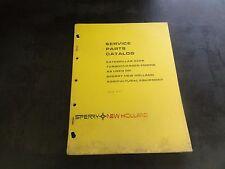 New Holland Caterpillar 3306 Turbocharged Engine Service Parts Catalog Manual