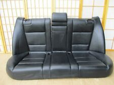 98-03 BMW M5 E39 OEM Interior Rear Back Seat BLACK Sport Leather Complete 5 pc
