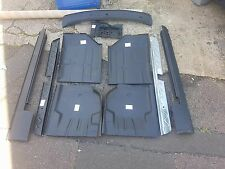 MK4 Escort Panels x10 in total 4 x floors+inner+outer sills+scuttle+battery tray