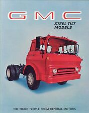 1969 GMC Steel Tilt Models Truck Sales Brochure