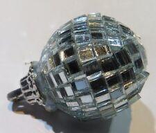 Sphère (2) avec nombreux miroir à pendre -