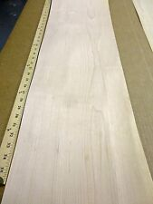 "Maple wood veneer sheet 11"" x 44"" with paper backer 1/40th"" thickness ""A"" grade"