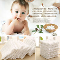 100%Cotton 6layer New Born Gauze Bath Wash Baby cloth Feeding Towel Handkerchief