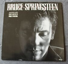 Bruce Springsteen, brilliant disguise,  Maxi Vinyl  Holland + poster