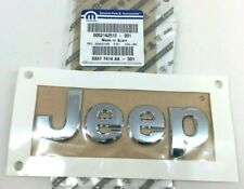2015-2020 Jeep Renegade front hood chrome Nameplate Emblem new OEM 68477414AA