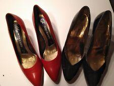 2 Paar elegante Damenschuhe - Peter Kaiser - Bally - Leder - Größe 5 1/2 *NEU*