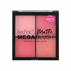 Technic Mega Blush Matte Quad Palette Pressed Powder Blusher Pink Vegan