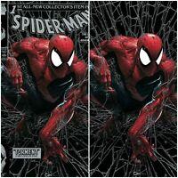Spider-Man #1 Facsimile Clayton Crain SILVER Virgin Variant Set LTD 800.