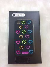 New LeSportsac iPhone 4 4S Cover Case NEW Hearts Disco Love