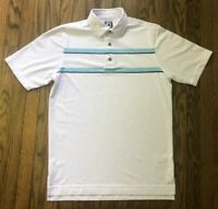 FootJoy FJ Mens Athletic Fit Short Sleeve Polo Golf Shirt Size Medium