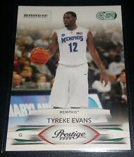 Tyreke Evans 2009-10 Panini Prestige BONUS SHOTS GREEN Rookie Card (#'d 02/25)