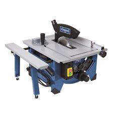 Scheppach Tischkreissäge HS80 1200 Watt mit Tischverbreiterung Paralellanschlag