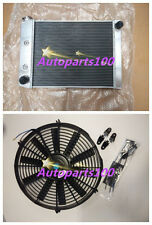 """For Ford Cortina Radiator+14"""" inch Fan 6 Cylinder TC TD TE TF 72-82 AT/MT"""
