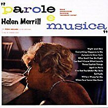 Merrill Helen - Parole E Musica - CD Album